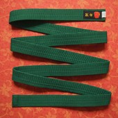 Пояс кимоно размер 240, б/у. Состояние нового. Длина 238 см.