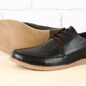 Туфли натуральная кожа нубук В2252