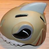 Детский 3D анимированный шлем Crazy Safety Акула