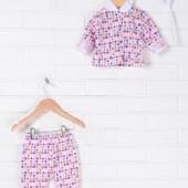 Распродажа - Комплект для новорожденного кофта ползунки шапочка от Baby Art комплект в роддом девочк