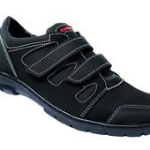 40 р Мужские спортивные туфли мокасины на липучки Ю 33 Ч