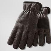 Теплые мужские перчатки Tchibo. Thinsulate.