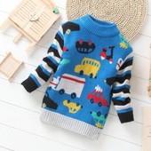 Теплый свитер под заказм 3 цвета