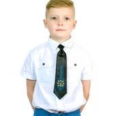 Краватка з вишивкою Ясногор