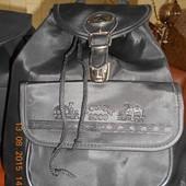Рюкзак чёрный для девочки!