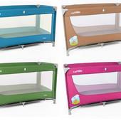 Детская кровать манеж Carrello Uno CRL-7304 с боковым лазом