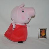 Фирменная средняя Peppa Pig Свинка Пеппа мягкая оригинал с озвучена