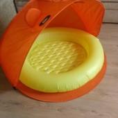 Продам детский бассейн Bestway, оборудованный складным тентом.