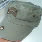 Фірмова стильна кепка мілітарі .56 58