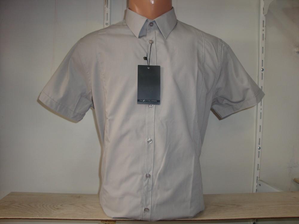 Распродажа! мужская рубашка с коротким рукавом piazza italia. разные цвета. фото №1