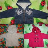 Куртка демисезонная для девочки, 3 вида.
