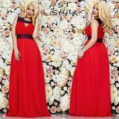 Вечернее платье 48-52 размер Мод.№152