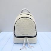 Меховой натуральный рюкзак Michael Kors оригинал