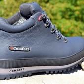 хорошие Зимние мужские ботинки Comfort разм 39-45