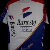 Велофутболка велоджерси веломайка джерси Banesto
