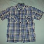 Фирменная Rebel крутейшая рубашка мальчику 4-5 лет хлопок