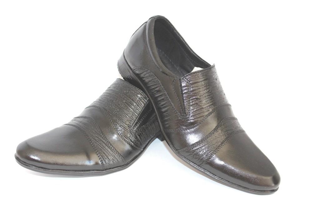 Мужские кожаные классические туфли 39-45 размеры фото №1
