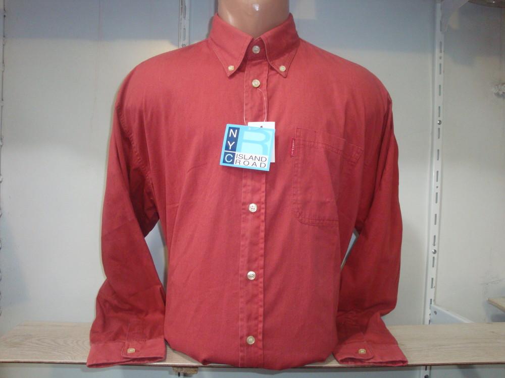 Мужская рубашка с длинным рукавом nyc. разные цвета. фото №1