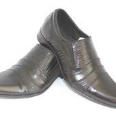 Мужские кожаные классические туфли 39-45 размеры