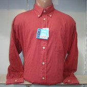 Мужская рубашка с длинным рукавом NYC. Разные цвета.
