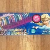 Набор для плетения из резинок Rainbow loom 600 шт и станок.