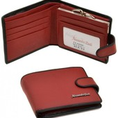 Женский кожаный кошелек портмоне Alessandro Paoli натуральная кожа