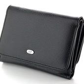 Женский кожаный кошелек ST складной маленький