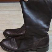 Ecco сапоги кожаные 40р