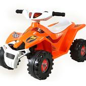 Квадроцикл на аккумуляторе Orion (Украина) 426 со звуком до 30 кг (расцветки разные)