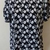 Легкая блуза с принтом