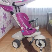 Детский трехколесный велосипед Smart Trike Recliner Stroller