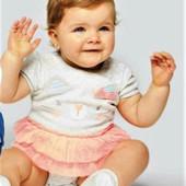 18-16 Детский боди 6-9 мес (рост 74) / Польша Pepco Боди для малышей / детская одежда