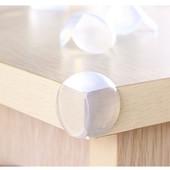 Защита на углы мебели, протекторы-уголки силиконовые. От 4 шт - скидка