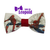 Бабочка -галстук с принтом человек паук