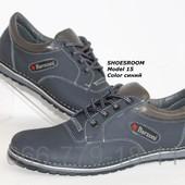 Мужские туфли, натуральная кожа, Barzoni