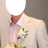 Льняной костюм для стильного парня. Размер 46. Идеальное состояние!!!