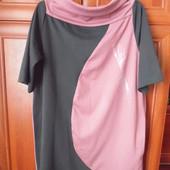 Качественное трикотажное платье. Р 52-54