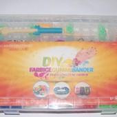 4800шт. Набор резиночек для плетения Rainbow Loom со станком органайзер