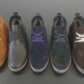 Зимние ботинки класса Люкс Натуральная кожа