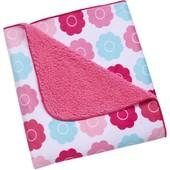 Махровый плед Цветочки Tickled Pink Baby Blanket  редактировать