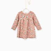 Платье жаккардовое Zara р.68-104