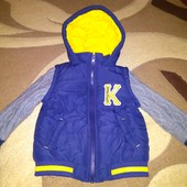 Демисезонная куртка baby club 92 р