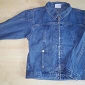 Джинсовый пиджак Impidimpi на рост 110-116 см.