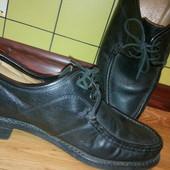 кожаные туфли стелька 28см