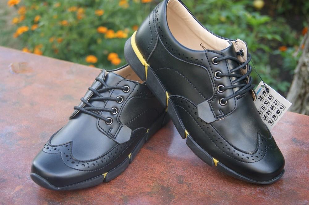 Туфлі для хлопчиків B&G. фото №1