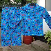 Байковая пижама для мальчика (3-5 лет) Primark