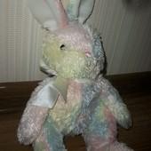 заяц мягкая игрушка с бисером успокаивающим