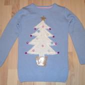 свитер новогодний