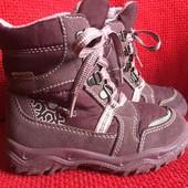 Ботиночки зимние Super fit на Gore-Tex 26р, 15,5-16см