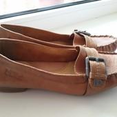 Туфли, мокасины кожаные Marco Tozzi 41 размер